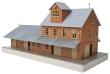 WALT931-918 - HO Scale - Brick Freight House