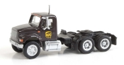 1:87 Scale - International 4900 Dual Axle Semi Tractor - UPS (New Shield Scheme)