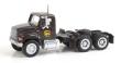 WALT949-11185 - 1:87 Scale - International 4900 Dual Axle Semi Tractor - UPS (New Shield Scheme)