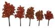 WALT949-1154 - Tall Autumn Trees - 10 Pack