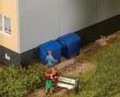 WALT949-4126 - HO Scale - Modern Trash Containers