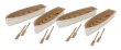 WALT949-4163 - HO Scale - Row Boats - 4 Pack