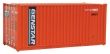 "WALT949-8003 - HO Scale - Rib side Container - ""Genstar"""