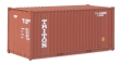 WALT949-8004 - HO Scale - 20' Rib Side Container - Triton