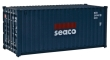"WALT949-8054 - HO Scale - 20' Corrugated Container - ""Seaco"""