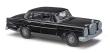 BUSC89100 - 1:87 Scale - Mercedes Benz 220 - Black